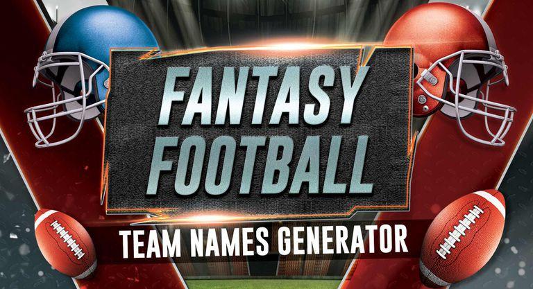 Fantasy Football Team Names Generator