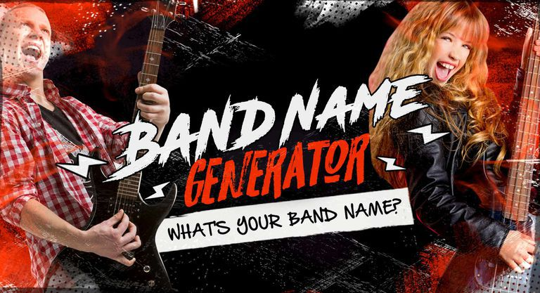 Band Name Generator: What's Your Band Name?