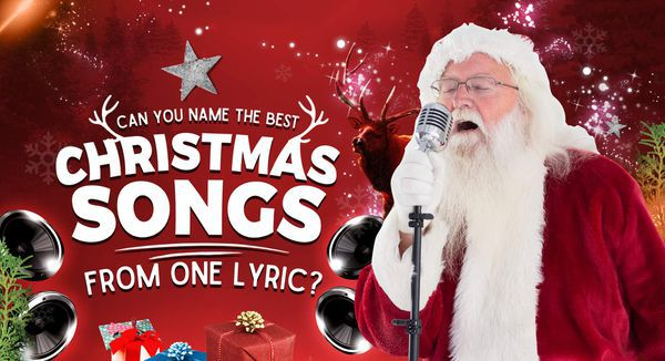 Can You Name the Best Christmas Songs from One Lyric?