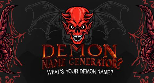 Demon Name Generator: What's Your Demon Name?