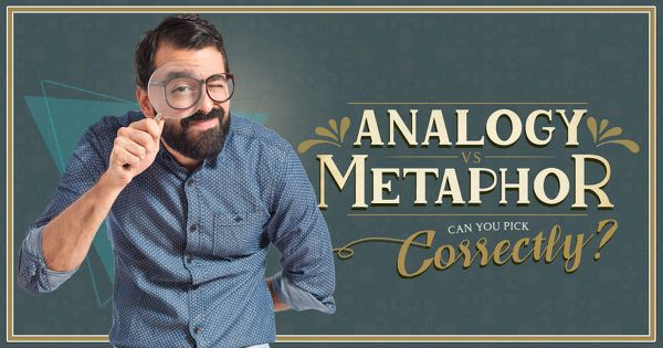 Analogy vs Metaphor: Can You Pick Correctly?