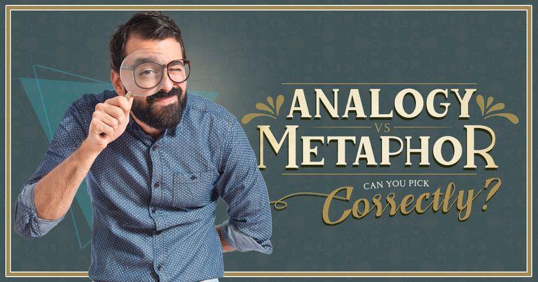 Analogy vs Metaphor: Can You Pick Correctly?