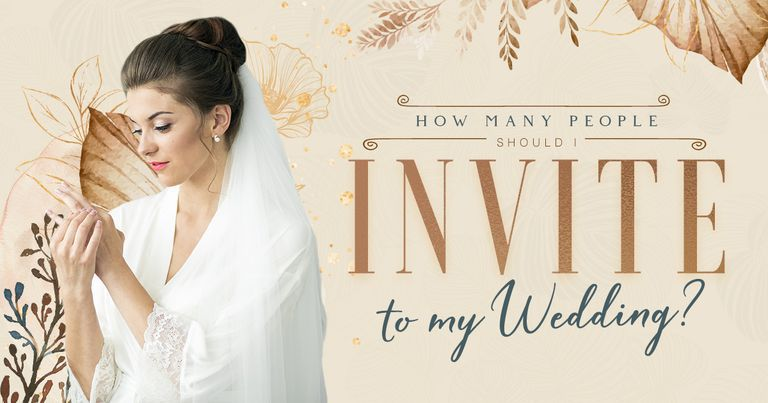 How Many People Should I Invite to My Wedding?