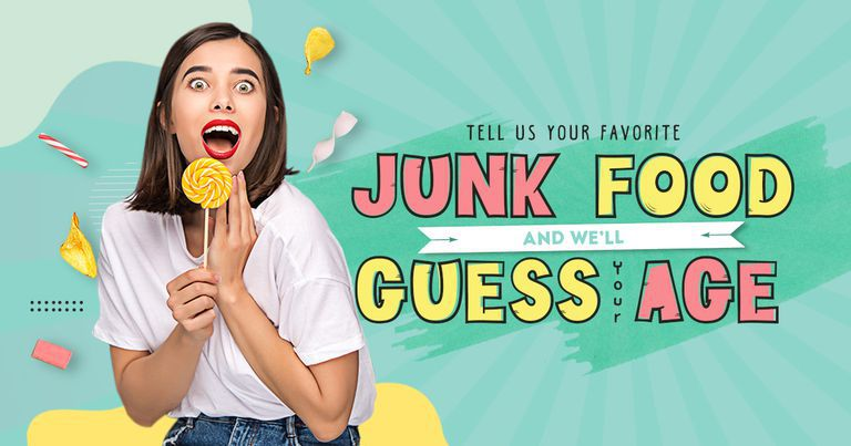 Tell Us Your Favorite Junk Food and We'll Guess Your Age