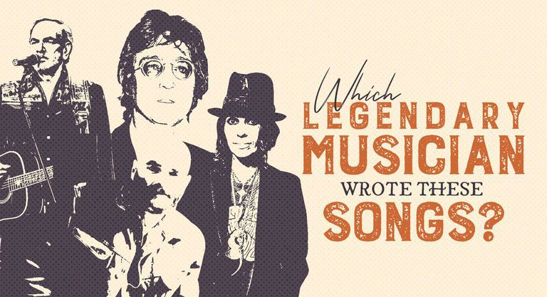 Which Legendary Musician Wrote These Songs?