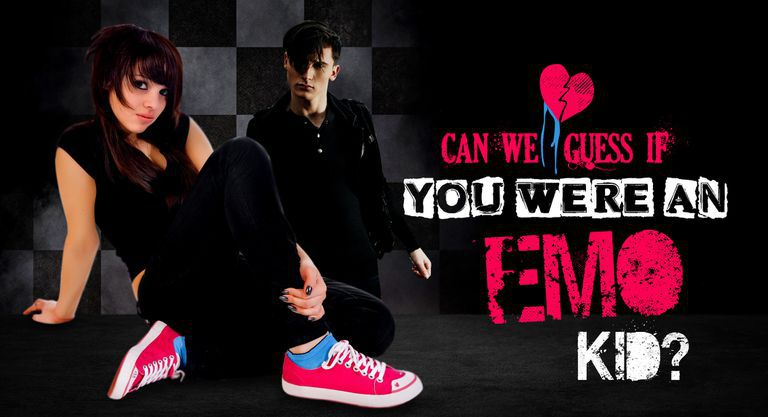 Can We Guess If You Were You an Emo Kid?
