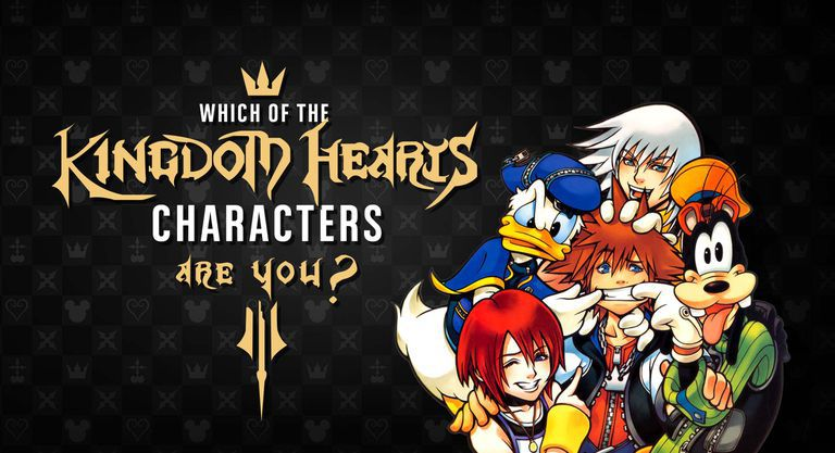 Which of the Kingdom Hearts Characters Are You?