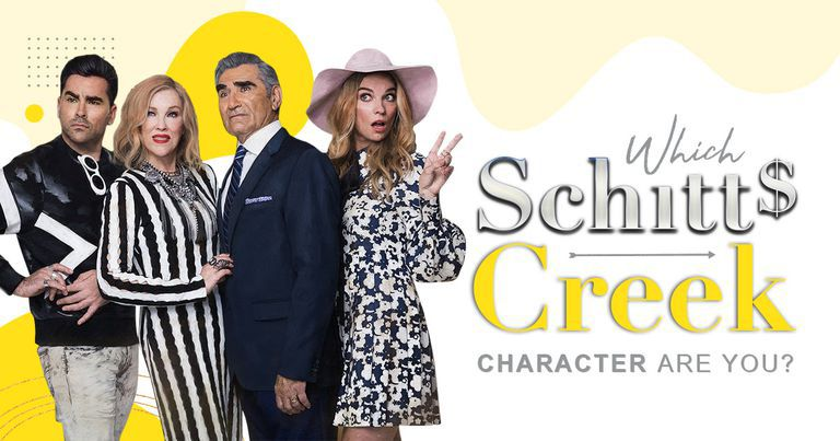 Which Schitt's Creek Character Are You?