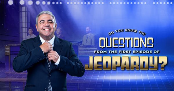 Do You Know the Questions from the First Episode of Jeopardy?