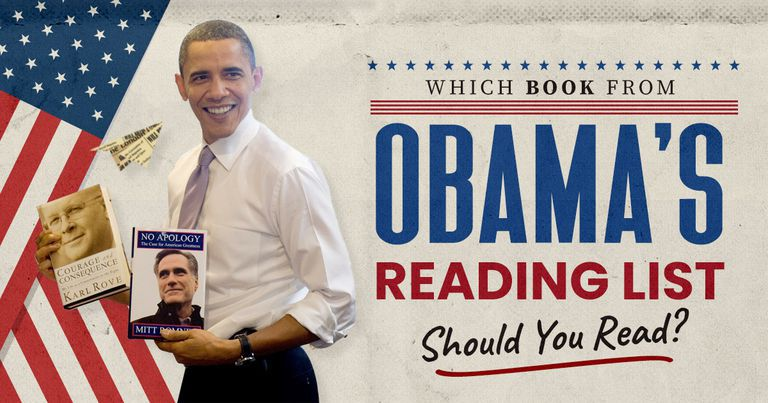 Which Book from Obama's Reading List Should You Read?