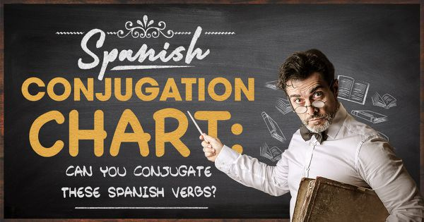 Spanish Conjugation Chart: Can You Conjugate These Spanish Verbs?