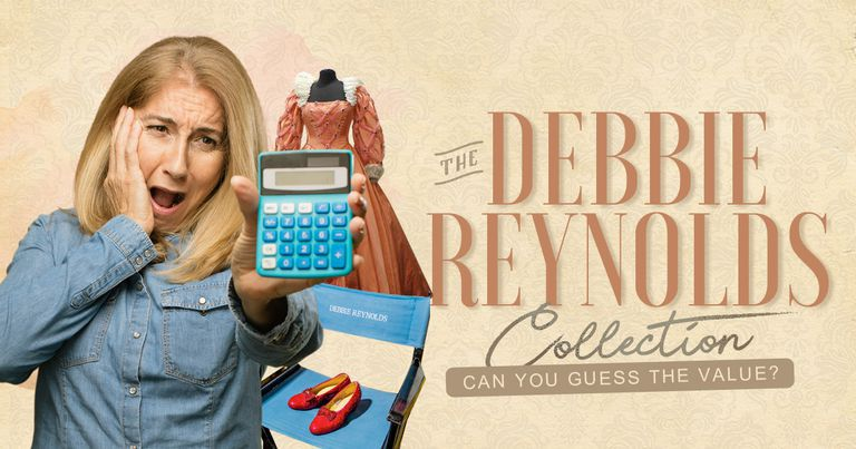 The Debbie Reynolds Collection: Can You Guess The Value?