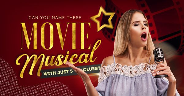Can You Name These Movie Musicals with Just Five Clues?