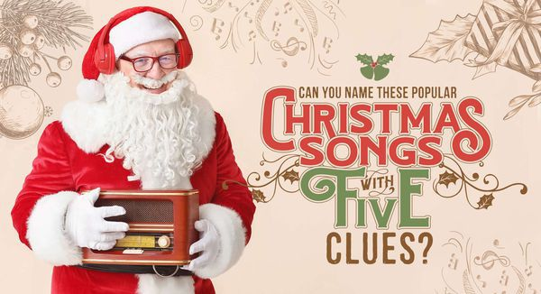 Can You Name These Popular Christmas Songs with Five Clues?