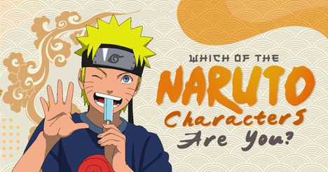 Which of the Naruto Characters Are You?